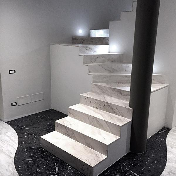 Top Scala in marmo - Bravi Marmi WX95